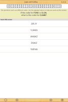 Screenshot of 11+ Verbal Reasoning Papers LE
