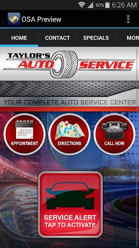 Taylors Auto Service
