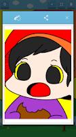 Screenshot of Kids Coloring (Vegetable elf)