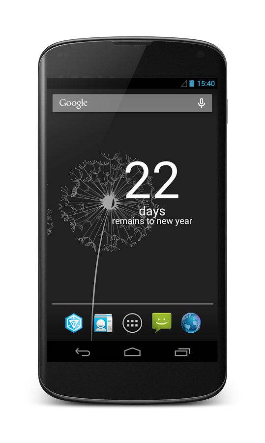 New Year Countdown Widget- screenshot