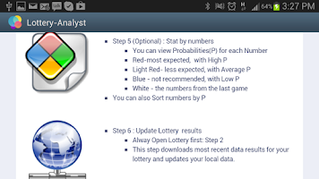 Screenshot of Lottery-Analyst