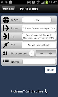 Blueline Taxis Newcastle - screenshot thumbnail