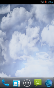 Rain Clouds Thunder Storm HD - screenshot thumbnail