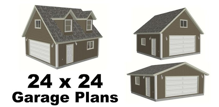 24 X 24 Garage Plans Blueprint Android Apps On Google Play
