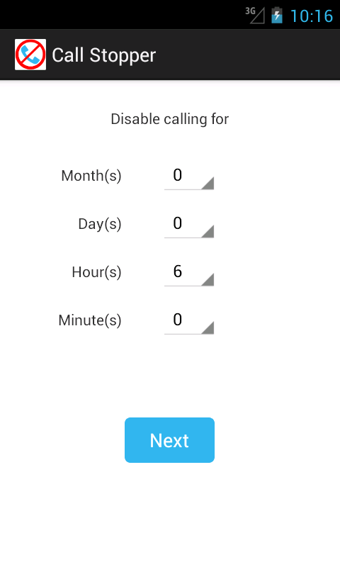 Call Stopper- screenshot