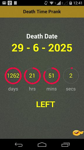 Death Age Scanner Prank