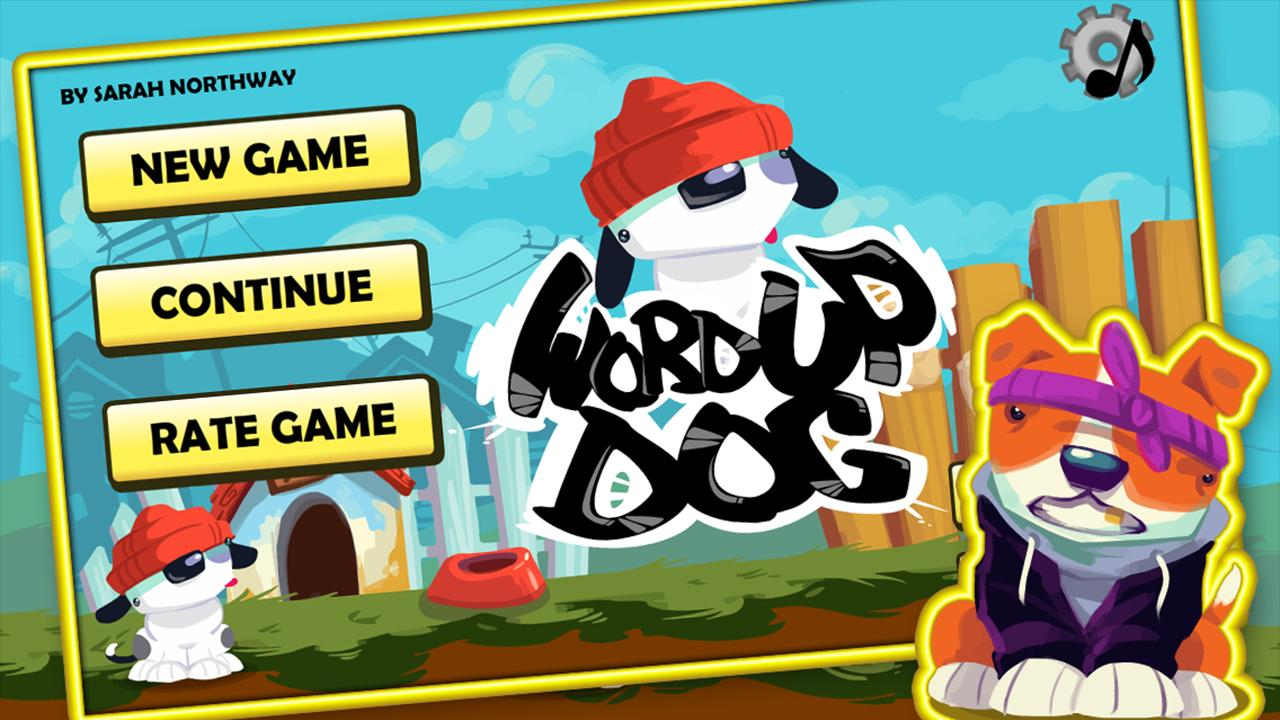 Word Up Dog - screenshot