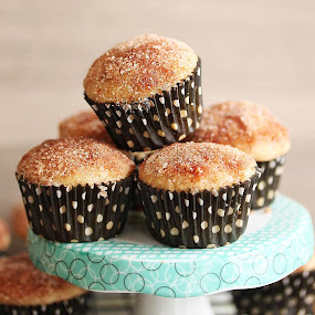 Donut Muffins by Vrinda Mahesh - Food & Drink Cooking & Baking ( candy, dessert, sweet )
