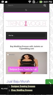 TrendVogue- screenshot thumbnail