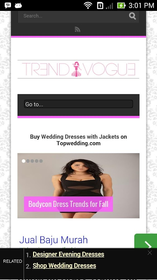 TrendVogue- screenshot