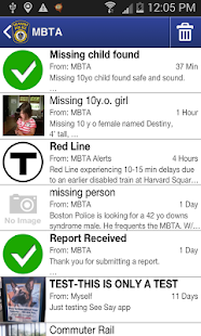 MBTA See Say- screenshot thumbnail