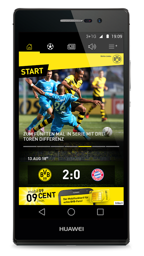 Borussia Dortmund - screenshot