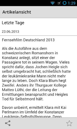 【免費娛樂App】Tatort Zuschauer-APP點子