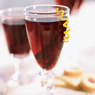 Mulled Cranberry Wine Punch.