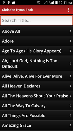Christian Hymn Book