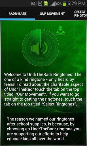 UndrTheRadr Ringtones