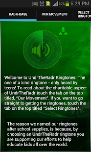 UndrTheRadr Ringtones- screenshot thumbnail