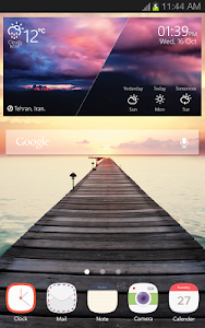 Landscape Weather Widget screenshot 3