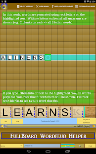Wordfeud Solver Helper Trainer - screenshot thumbnail