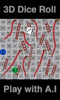 Screenshot of Snakes and Ladders HD