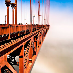 by Raymond Bordeaux - Buildings & Architecture Bridges & Suspended Structures ( golden gate bridge )
