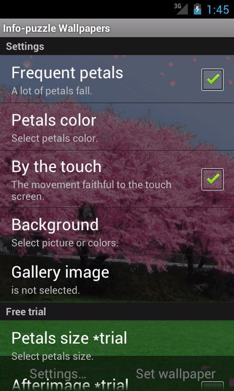 Cherry blossoms- screenshot