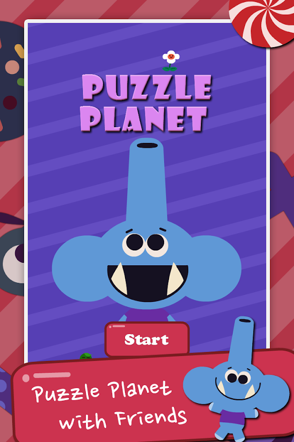 Puzzle Planet with Friends- screenshot