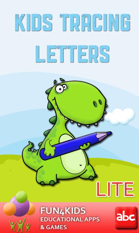 Kids Tracing Letters Lite- screenshot