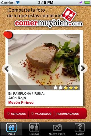 Comer Muy Bien- screenshot