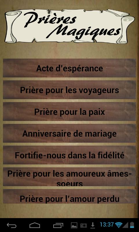 Bien-aimé Prières Magiques - Catholiques – Applications Android sur Google Play ZQ81