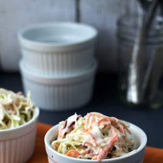 Homemade Creamy Coleslaw Recipe