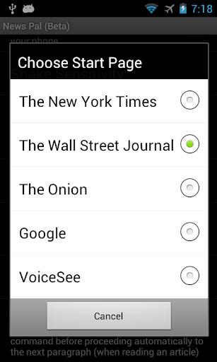 News Pal™ (voice browser) 生活 App-癮科技App