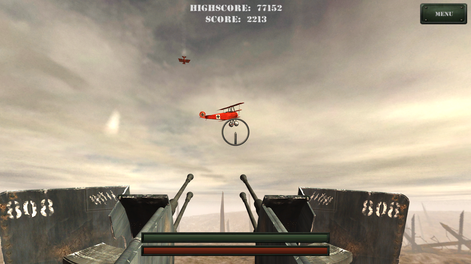 Shoot The Fokkers - screenshot