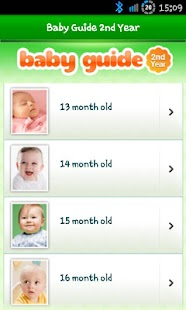 Baby Guide 2nd Year Lite screenshot