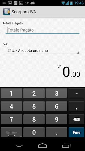 Scorporo IVA