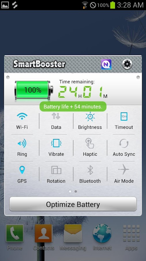 NQ Easy Battery Saver FREE - screenshot