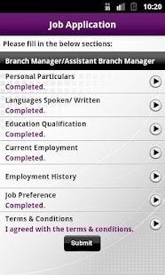 Jobs & Courses @SIRS - screenshot thumbnail