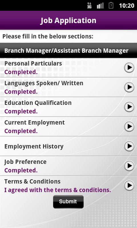 Jobs & Courses @SIRS - screenshot