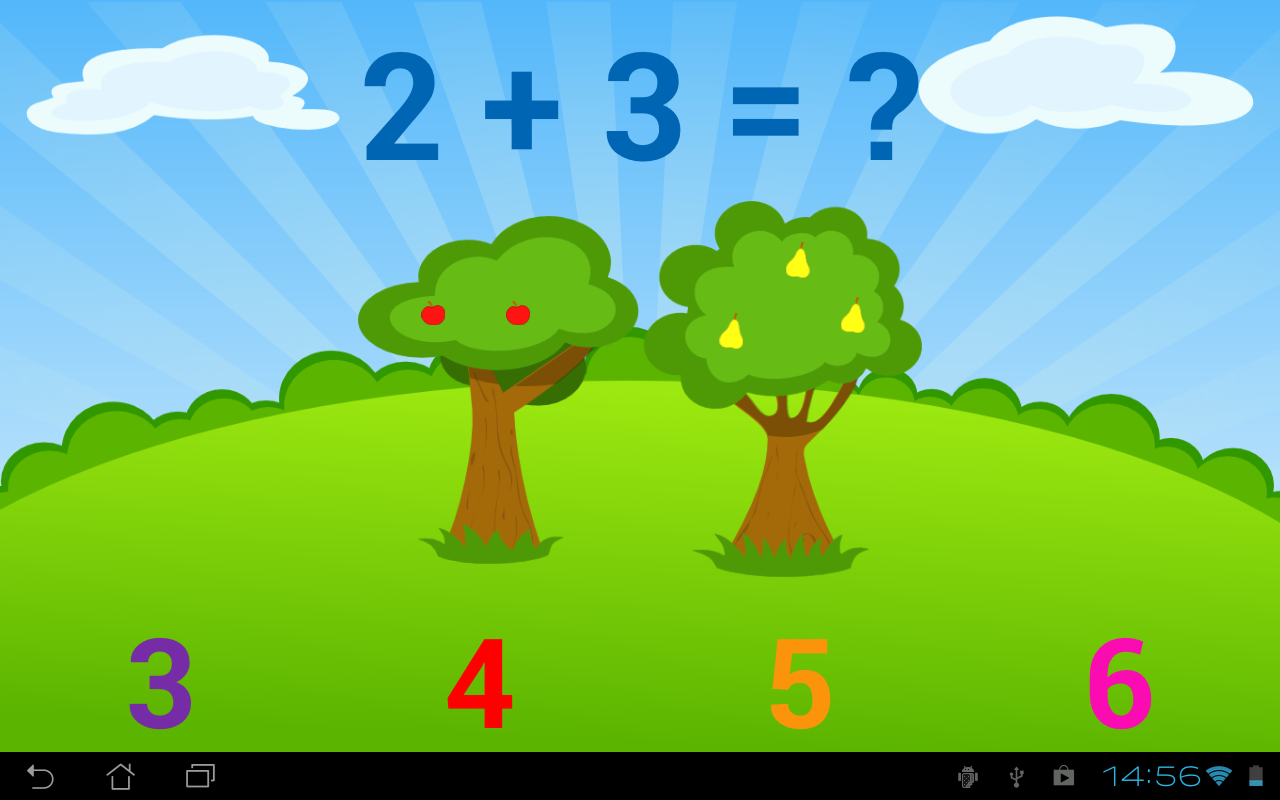 Kids Numbers and Math Lite - screenshot