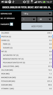 Cals & Macros FREE - screenshot thumbnail