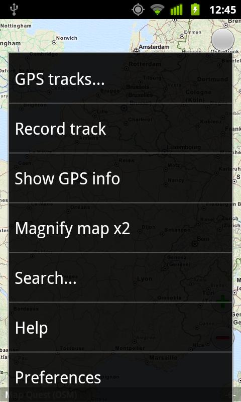 MapsOn Free: Offline Map - screenshot