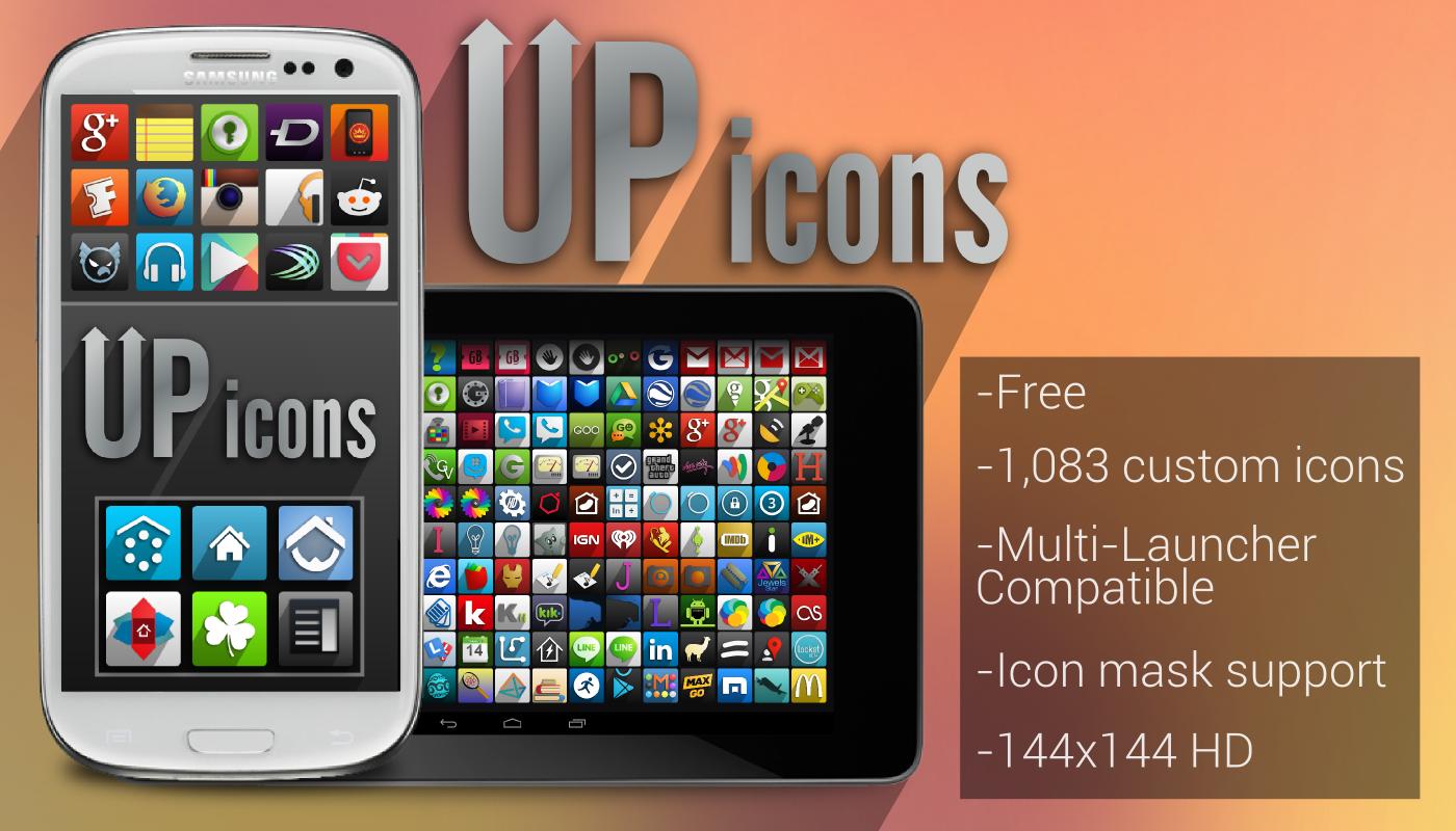 UP icons - screenshot