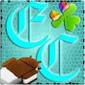 GOWidget ElectricCyan ICS-Free logo