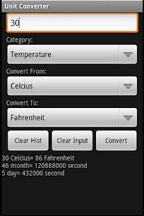 Free Unit Converter - screenshot thumbnail