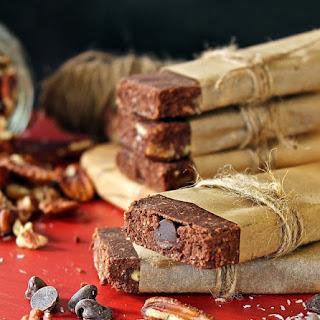 German Chocolate Protein Bars.