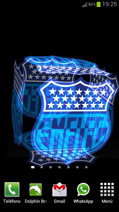 3D Emelec Fondo Animado - screenshot