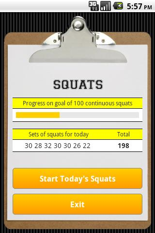 Squats - screenshot