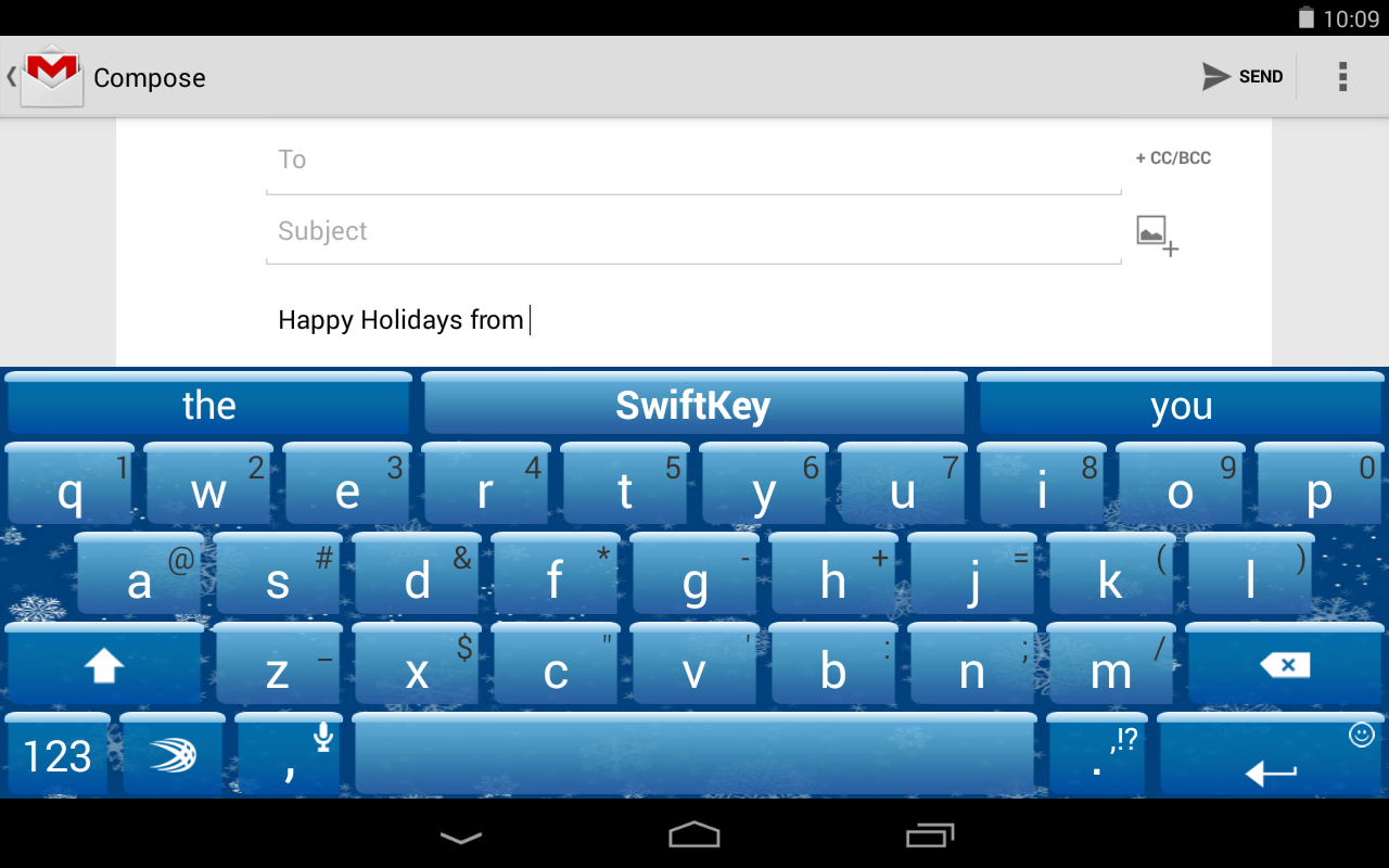 SwiftKey Keyboard Free - screenshot
