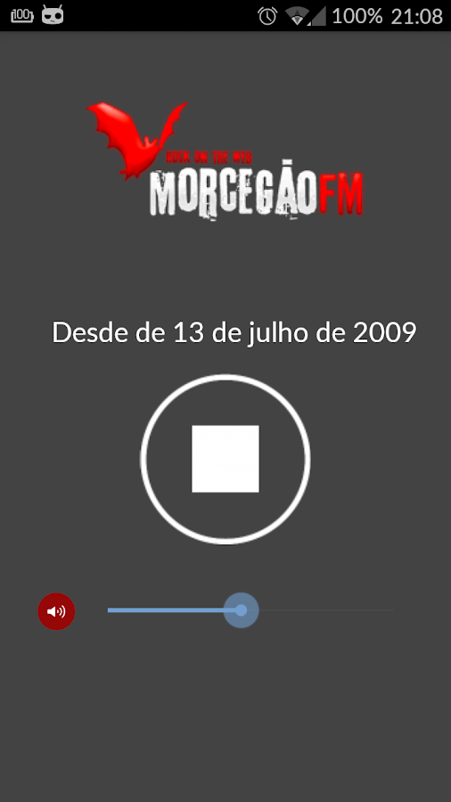Morcegão FM Player- screenshot