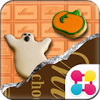 Halloween Chocolate Wallpaper icon